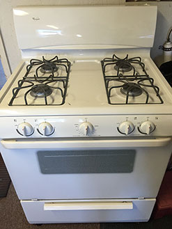 used gas stove for sale